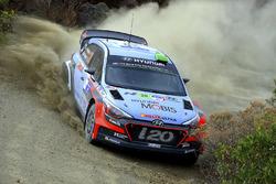 Kevin Abbring y Sebastian Marshall, Hyundai i20 R5 WRC, Hyundai Motorsport