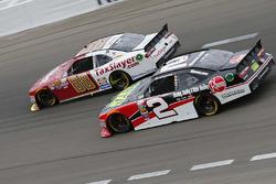 Chase Elliott, JR Motorsports Chevrolet; Austin Dillon, Richard Childress Racing Chevrolet