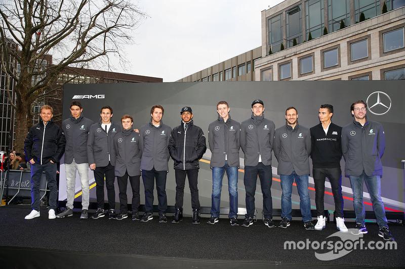 Pilotos Mercedes