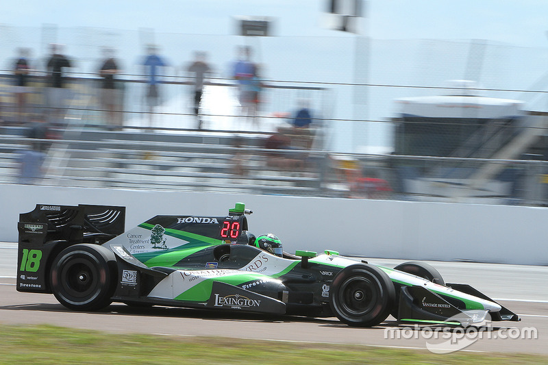 #18 Conor Daly (Coyne-Honda)