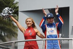 Лука Філіппі, Dale Coyne Racing Honda і чірлідер Tampa Bay Buccaneers
