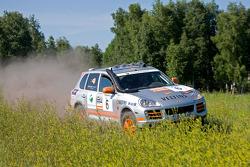 #6 Spanish Team Porsche Cayenne S Transsyberia: Pau Soler and Laia Peinado