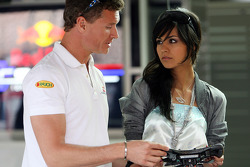 David Coulthard, Red Bull Racing with a girl