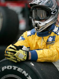 A Super Nova Racing mechanic watches the action