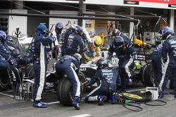 Kazuki Nakajima, Williams F1 Team, FW30, Pitstop