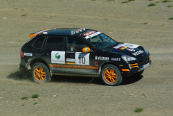 #10 Team Germany 1 Porsche Cayenne S Transsyberia: Armin Schwarz and Andreas Schulz