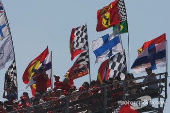 The fans are certainly ready for the Hungarian GP
