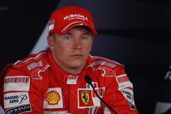 Press conference: third place Kimi Raikkonen