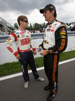 Landon Cassill and Ron Fellows