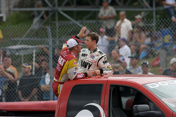 Clint Bowyer and Brad Keselowski