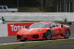 #57 Kessel Racing Ferrari F430: Henri Moser, Fabrizio Del Monte, Gilles Vannelet, Andrea Palma