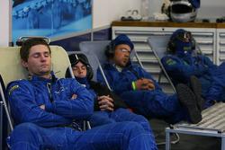 JMB Racing crew members