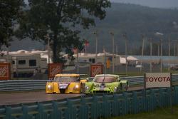 #47 Doran Racing Ford Dallara: Burt Frisselle, Ricky Taylor, #75 Krohn Racing Pontiac Lola: Tracy Krohn, Eric van de Poele