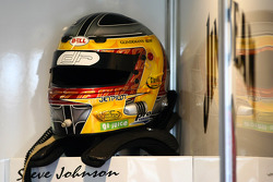 Steve Johnson's helmet (Jim Beam Racing Ford Falcon BF)