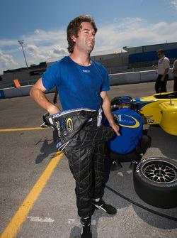 Provisional pole winner Jonathan Bomarito