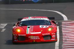 #51 AF Corse Ferrari 430: Thomas Biagi, Christian Montanari