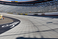 Turn 3 at Bristol Motor Speedway