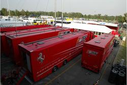 Scuderia Ferrari, trucks