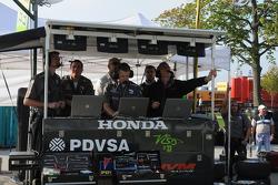 The HVM team looks at data
