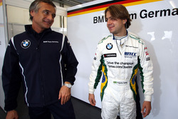 Charly Lamm, GER, Team Manager, BMW Team Germany / Schnitzer Motorsport and Augusto Farfus, BMW Team Germany, BMW 320si