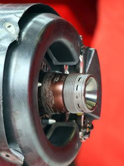 Front breaks of a Ferrari