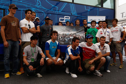Formula One and GP2 Drivers unite for solidarity