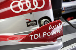 Detail of the Audi Sport Team Joest Audi R10 TDI