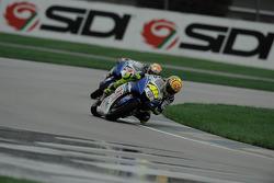 Valentino Rossi y Jorge Lorenzo