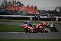 Casey Stoner, Nicky Hayden y Valentino Rossi