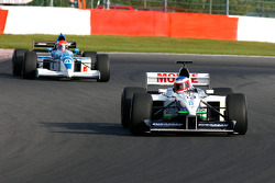 #10 Frits Van Eerd (NL) VES Racing, F1 Tyrrell 026 Ford 3.0 V8, and #4 Marijn Van Kalmthout (NL) Van Kalmthout Auto, F1 Tyrell 023 Yamaha 3.0 V10