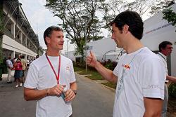 David Coulthard and Mark Webber