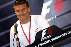 FIA Thursday press conference: David Coulthard