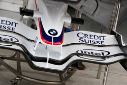 BMW Sauber F1 Team, front wing