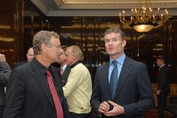 Hermann Tilke and David Coulthard