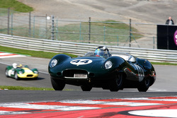 Carlos Monteverde, and Gary Pearson, Lister-Jaguar Costin, 1958