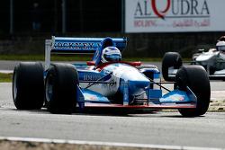 #13 Phillip Keen, Benetton B194, #2 Pierre Schroder, Benetton B197