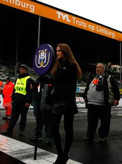RSC Anderlecht grid hostess