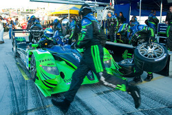 Pit stop for #9 Patron Highcroft Racing Acura ARX-01B Acura: David Brabham, Scott Sharp