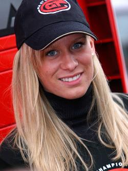 A lovely FIA-GT girl