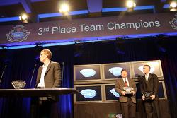 3rd place team champions - Chris Dyson, Rick Mayer, Chris McMurry