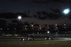 #5 Penske Racing Porsche Riley: Romain Dumas, #11 AIM Autosport Ford Riley: Billy Asaro, John Farano