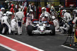 Pitstop, Nick Heidfeld, BMW Sauber F1 Team, F1.08