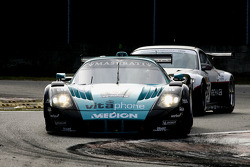 #1 Vitaphone Racing Team Maserati MC 12: Andrea Bertolini, Michael Bartels, #60 Prospeed Competition Porsche 997 GT3 RSR: Marc Lieb, Markus Palttala