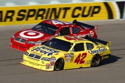 Juan Pablo Montoya and Reed Sorenson