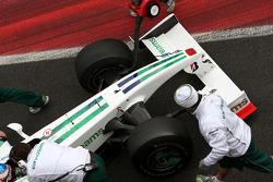 Jenson Button, Honda Racing F1 Team, Interim 2009 car, detail
