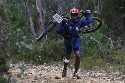 Launceston, Australia: Gibson Kemori of Team No Roads Expidition in action