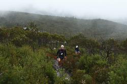 Launceston, Australia: Mark Webber and Emma Weitnauer of Team Pure Tasmania in action