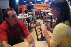 Fifth-place in the NASCAR Nationwide Series driver standings, Mike Bliss