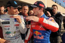 Stéphane Sarrazin and Sébastien Loeb