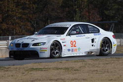 BMW Rahal Letterman Racing Team tests: Andy Priaulx tests the BMW Rahal Letterman Racing BMW M3